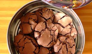 Brownie cookies croquants et fondants