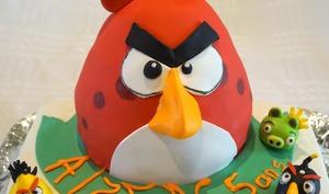 Gâteau Angry Birds