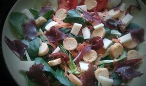 Salade composée au boeuf séché