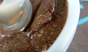 Crème brulée au chocolat noir de Pierre Hermé