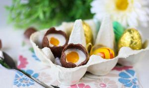 Panna cotta de Pâques à la mangue