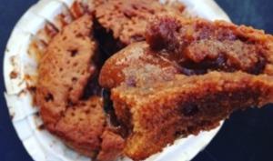 Un muffin chocolat au coeur fondant
