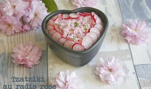 Tzatziki de radis roses