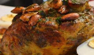 Gigot d'agneau aux épices marocaines