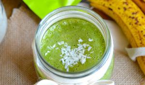 Green smoothie protéiné