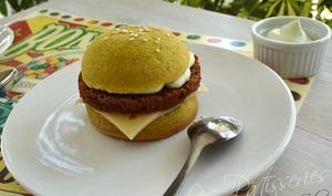 Hamburger en génoise