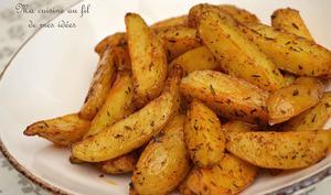 Country potatoes au thym et paprika fumé