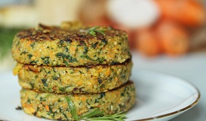 Galettes végétales quinoa & légumes façon steak
