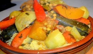 Couscous d'agneau à la marocaine Facile