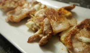 Escalope de porc farcie à la tomme fraîche