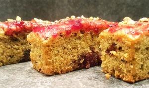 Mini cake pistache cerise