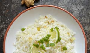 Riz frit miel et citron vert