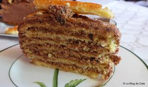 Dobos ou gâteau hongrois