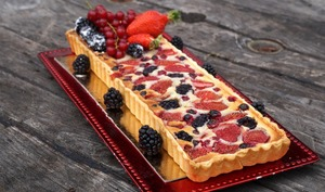 Tarte Amandine aux Fruits Rouges