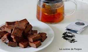 Des fondants au chocolat noir et lait concentré sucré