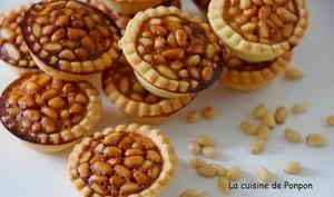 Pignoli ou mini tartelettes aux pignons