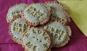 Biscuit polenta et pavot