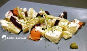 Salade suédoise betterave pommes de terre