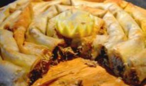 Pastilla Mhancha aux fruits de mer