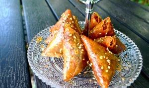Briouats aux amandes bénéfiques pour Ramadan