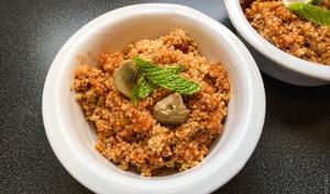 Quinoa du retour de Sicile