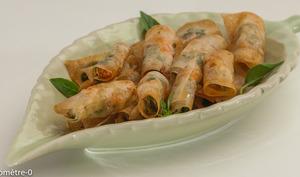Bouchées de langoustines aux fines herbes