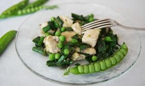 Mon émincé de poulet facile, économique, minceur, aux légumes nouveaux, prêt en 20 minutes