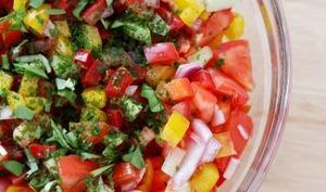 Salade d'été aux poivrons