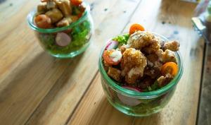 Salade césar du panier du petit Lucien