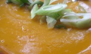 Soupe au potiron et au miso