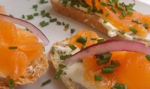 Gravlax de saumon aux agrumes