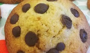 Cookies moelleux au cœur de banane et beurre de cacahuètes