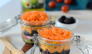 Salade in a Jar