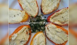 Minis poivrons grillés au barbecue, à la plancha ou au four