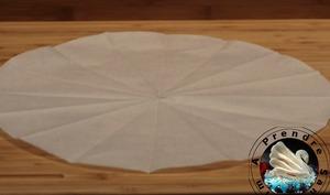 Comment faire un rond en papier cuisson