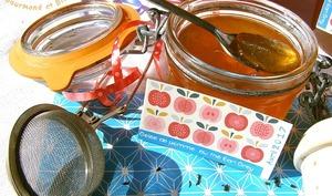 Gelée de pommes au thé Earl Grey