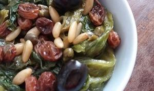 Salade cuite à la napolitaine