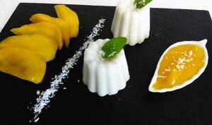 Douceurs au lait de coco et à la mangue