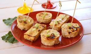 Petits gâteaux de poulet et coco, façon thaï