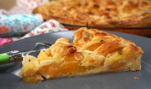 Tarte ensoleillée aux abricots