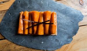 Tarte à la carotte et vanille