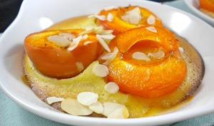 Petits gratins abricot et amandes
