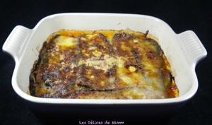 Aubergines à la parmigiana ou melanzane alla parmigiana