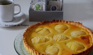 "La tarte bourdaloue façon ""la pâtelière"""