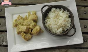 Poulet coco curry à l'actifry