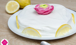 Layer cake au lemon curd et chantilly