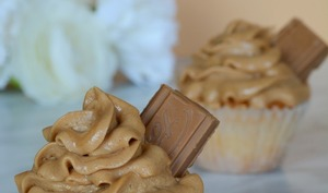 Cupcakes à la pralinoise
