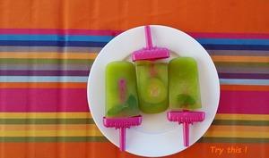 Popsicles concombre et menthe au TM5
