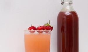 Sirop rhubarbe et fraise