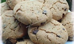 Cookies speculoos & chocolat noir